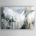 baratos Pinturas Abstratas-Pintura a Óleo Pintados à mão - Paisagem Modern Tela de pintura