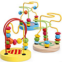 cheap Toy Instruments-Toy Abacus Educational Toy Education Wooden Pieces Boys' Kid's Gift