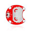 billige Strømforsyninger-Keyes lilypad bærbar CCR - 2004 (rød) knapp batterimodul uten batteri