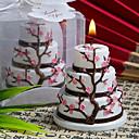 baratos Velas para Lembrancinhas-Tema Asiático Tema Clássico Tema Fadas Chá de Bebê Favores da vela - 1 Velas Caixa de Ofertas