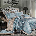 cheap High Quality Duvet Covers-Duvet Cover Sets Floral Cotton Jacquard 4 PieceBedding Sets / 400