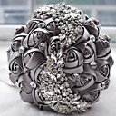"cheap Men's Accessories-Wedding Flowers Bouquets Wedding Bead Lace Silk Organza Satin 7.09""(Approx.18cm)"