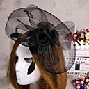 cheap Hair Jewelry-Flower Feather Veil Fascinator Hat Hair Jewelry for Wedding Party