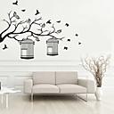 abordables Stickers Muraux-Autocollants muraux décoratifs - Autocollants avion Animaux Forme Botanique Salle de séjour Chambre à coucher Salle de bain Cuisine Salle