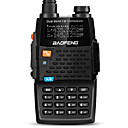 abordables Talkie-walkie-BAOFENG UV-5R 4TH Portable / Numérique Invite Vocale / Bi-Bande / Double Affichage 1,5 - 3 km 1,5 - 3 km 128 2800mAh 5/1 W Talkie walkie Radio bidirectionnelle