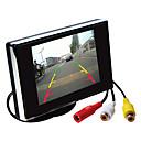 tanie Kamery samochodowe tylne-3,5 calowy monitor TFT-LCD samochód lusterko hd z podstawą odwrócenia kamery wysokiej jakości kopii zapasowych