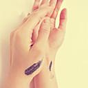 abordables Tatuajes Temporales-Waterproof / 3D Los tatuajes temporales Art Deco / Retro 3D Artes de cuerpo Rostro / manos / brazo