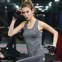 billige Trening, jogging og yogaklær-Singleter Dame - Ensfarget, Racerrygg Fritid / Aktiv Svart / Sommer