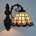 halpa Plafondit-Tiffany Seinävalaisimet Metalli Wall Light 110-120V / 220-240V Max 60W