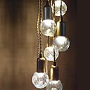 رخيصةأون أضواء السقف والمعلقات-أضواء معلقة ضوء محيط - استايل مصغر LED, ريفي / بلدي قديم كرة Drum فانوس زهري التقليدية / الكلاسيكية رجعي, 110-120V 220-240V يشمل لمبات