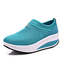 cheap Women's Athletic Shoes-Women's Shoes Tulle Spring / Summer / Fall Comfort Fitness & Cross Training Shoes Platform Gray / Red / Blue