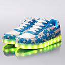 olcso Férfi sportcipők-Férfi / Női Light Up cipők Műbőr Tavasz / Ősz Világító cipők Piros / Kék / Glitter