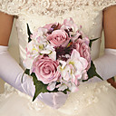 "cheap Birthday Home Decorations-Wedding Flowers Bouquets Wedding Party / Evening Satin 10.24""(Approx.26cm)"