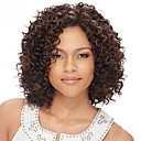 cheap Cases, Bags & Straps-Human Hair U Part / Lace Front Wig Kinky Curly Wig 130% Short / Medium Length / Long Human Hair Lace Wig