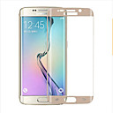 olcso Mobiltelefon tokok & Képernyő védők-Képernyővédő fólia mert S6 edge Edzett üveg 1 db 2.5D gömbölyített szélek 9H erősség