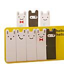 billige Kontor Supply & Dekorasjoner-nydelig kaninmotiv huskelapp (tilfeldig farge)