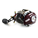 cheap Fishing Reels-Fishing Reel Baitcasting Reel 6.3:1 Gear Ratio+18 Ball Bearings Left-handed Right-handed Bait Casting Lure Fishing