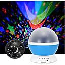 Недорогие Декоративное освещение-brelong 1 шт. usb проекция небо светло-розовый / синий / фиолетовый