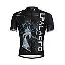 baratos Camisas Para Ciclismo-ILPALADINO Homens Manga Curta Camisa para Ciclismo Moto Camisa / Roupas Para Esporte, Secagem Rápida, Resistente Raios Ultravioleta,