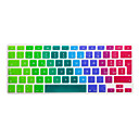 preiswerte Tastaturzubehör-SoliconeKeyboard Cover For13.3'' / 15.4'' Macbook Pro mit Retina / MacBook Pro / Macbook Air mit Retina / MacBook Air