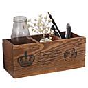 preiswerte Lagerung und Organisation-Sortierboxen,Holz Desktop-Organizer