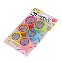זול כיסויים-20mm סרט קישוט צבעוני DIY 6pcs / סט