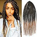 preiswerte Haarzöpfe-Geflochtenes Haar Klassisch / Gehäkelt / Senegal Twist Braids 100% kanekalon haare Haar Borten Alltag