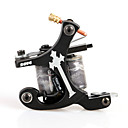 cheap Tattoo Machines-Handmade Black Cast Iron Tattoo Machine for Shader 10 Coils