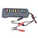 baratos Dispositivos de Monitoramento GPS-nova bateria 12v auto carro de carga do alternador 6 Digital LED testador de bateria luz