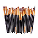 preiswerte Make-up-Pinsel-Sets-20pcs Makeup Bürsten Professional Lidschatten Pinsel Make - Up Pinselset Umweltfreundlich / Professionell / vollständige Bedeckung Plastik