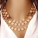 levne Kabelky-Dámské Obojkové náhrdelníky - Pryskyřice Cikánské, Cikánský Zlatá Náhrdelníky Pro Párty, Denní, Ležérní
