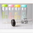 זול מחלצים ופתיחות-פלסטי בקבוקי מים קישוט מתנת Girlfriend 1 קפה תה מים מִיץ drinkware