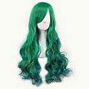 cheap Costume Wigs-Synthetic Wig / Cosplay & Costume Wigs Curly With Bangs Synthetic Hair Ombre Hair / Highlighted / Balayage Hair / Dark Roots Wig Women's Long Capless