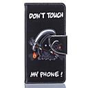hesapli Karnaval Kostümleri-Pouzdro Uyumluluk Huawei P9 Huawei P9 Lite Huawei Huawei Honor 5X P9 Lite P9 Huawei Kılıf Kart Tutucu Flip Tam Kaplama Kılıf Diğer Yumuşak