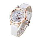 preiswerte Körperschmuck-Damen damas Modeuhr Quartz Armbanduhren für den Alltag PU Band Analog Schwarz / Weiß / Rot - Weiß Schwarz Rot