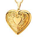 abordables Pulseras-Mujer Collar de medallones / Colgantes - Corazón, Amor Colgante Para Diario