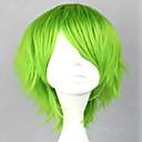 preiswerte Kostümperücke-Synthetische Perücken / Perücken Locken Mit Pony Synthetische Haare Perücke Damen Lang Kappenlos