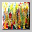 povoljno Apstraktno slikarstvo-Hang oslikana uljanim bojama Ručno oslikana - Sažetak Moderna With Frame