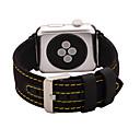 billige Eksterne batterier-Klokkerem til Apple Watch Series 3 / 2 / 1 Apple Klassisk spenne Ekte lær Håndleddsrem