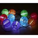 hesapli Düğün Hediyeleri-3M Dizili Işıklar 10 LED'ler 3528 SMD Beyaz Su Geçirmez / Şarj Edilebilir <5 V / IP65