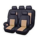cheap Car Seat Covers-CARPASS Car Seat Covers Seat Covers Beige / Gray / bright blue PU Leather Business for universal