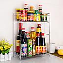 abordables Repisas y Soportes-Organización de cocina Repisas y Soportes Acero Inoxidable Fácil de Usar 1pc