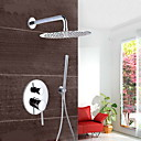 cheap Softshell, Fleece & Hiking Jackets-Shower Faucet - Contemporary Chrome Wall Mounted Brass Valve