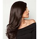 hesapli Gerçek Saç Örme Peruklar-Virgin Saç Ön Dantel Peruk Düz Brezilya Saçı Düz % 130 Yoğunluk Bebek Saçlı / Afrp Amerikan Peruk / işlenmemiş Doğal Kadın's Uzun
