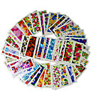 cheap Nail Stickers-50 sheets nail art water decals transfer sticker charming fantastic flower pattern manicure decor tools