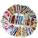 billige Negle Sticker-50 pcs Negle Smykker Negle kunst Manicure Pedicure Blomst / Klassisk Daglig / Negle smykker