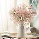 abordables Flores Artificiales-Flores Artificiales 1 Rama Estilo moderno Gipsófila Flor de Mesa