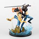 baratos Personagens de Anime-Figuras de Ação Anime Inspirado por One Piece Monkey D. Luffy 16 cm CM modelo Brinquedos Boneca de Brinquedo