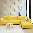 tanie Pokrowce na sofy i fotele-Pokrowiec na sofę Solidne kolory Żakard 65% jedwab wiskozowy / 35% polieser Slipcovers