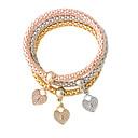 preiswerte Armbänder-Damen Bettelarmbänder - Herz Modisch Armbänder Gold / Silber Für
